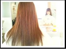 「縮毛矯正とストレートパーマの違い」イメージ写真